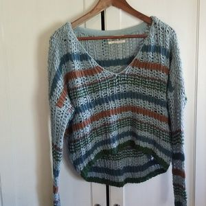 Urban outfitters loose knit boxy cropped sweater